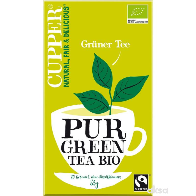 Cupper čaj green tea 35g
