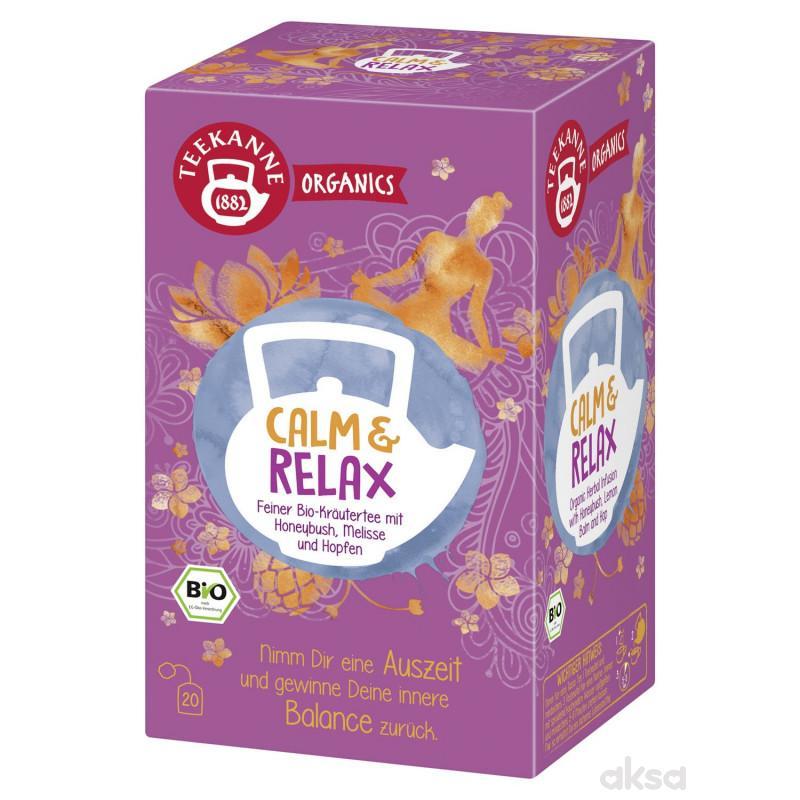 Teekane organics čaj bio calm & relax 36g