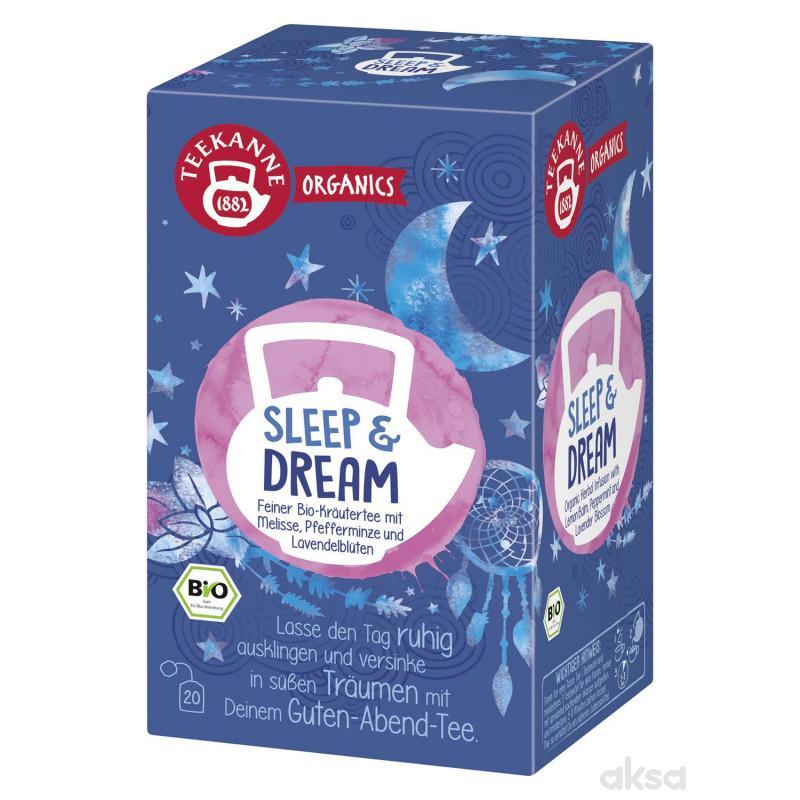 Teekane organics čaj bio sleep & dream 34g