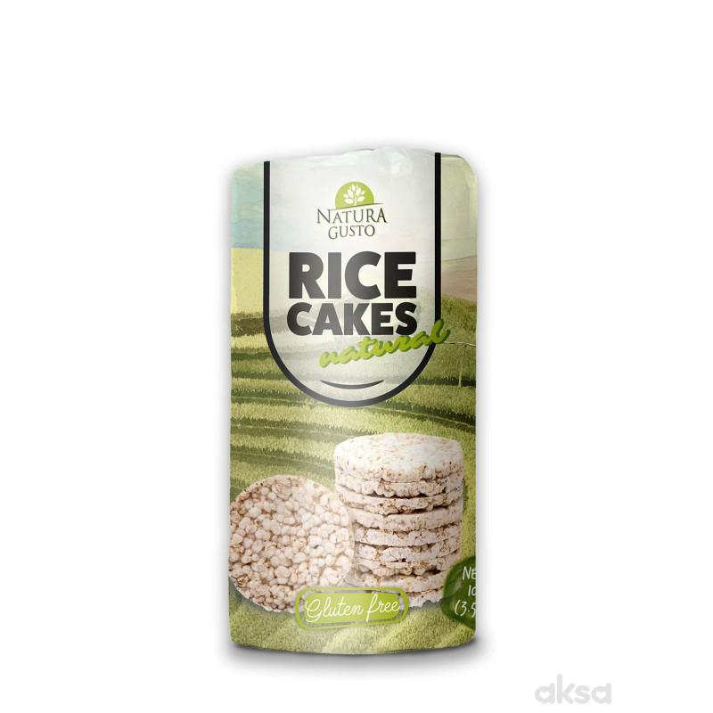 Natura Gusto pirinčane galete natural 100g