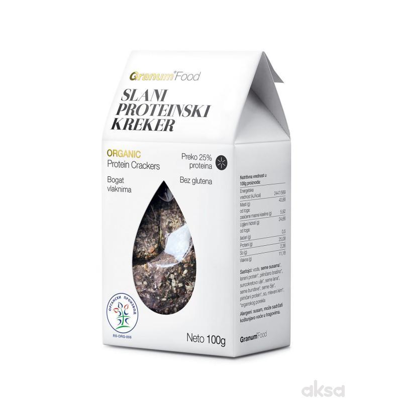 Granum slani proteinski organski kreker 100g