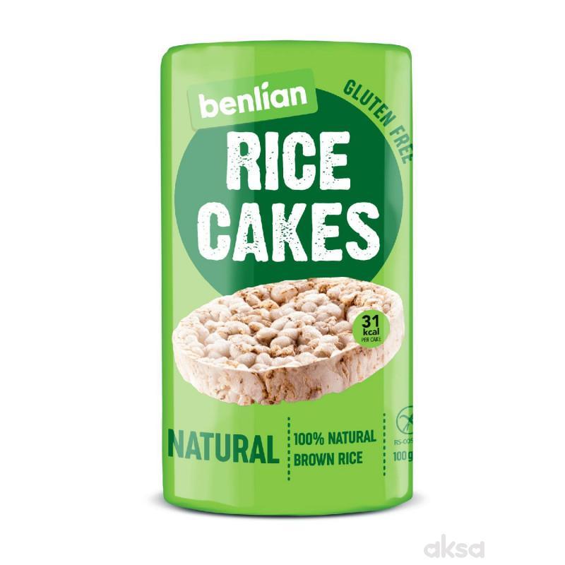 Benlian pirinčane galete natural 100g
