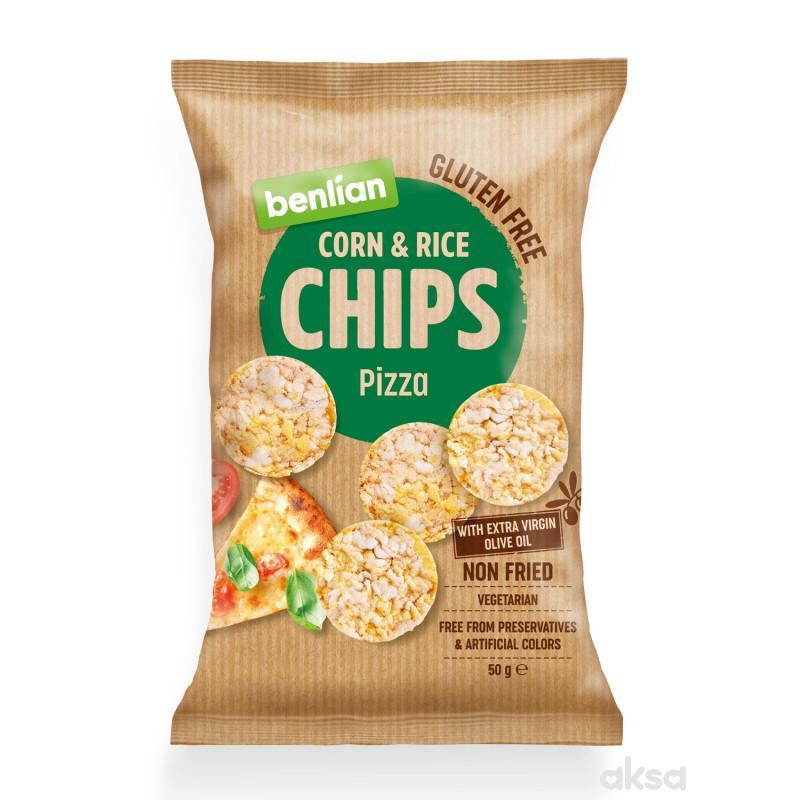 Benlian čips pizza 50g