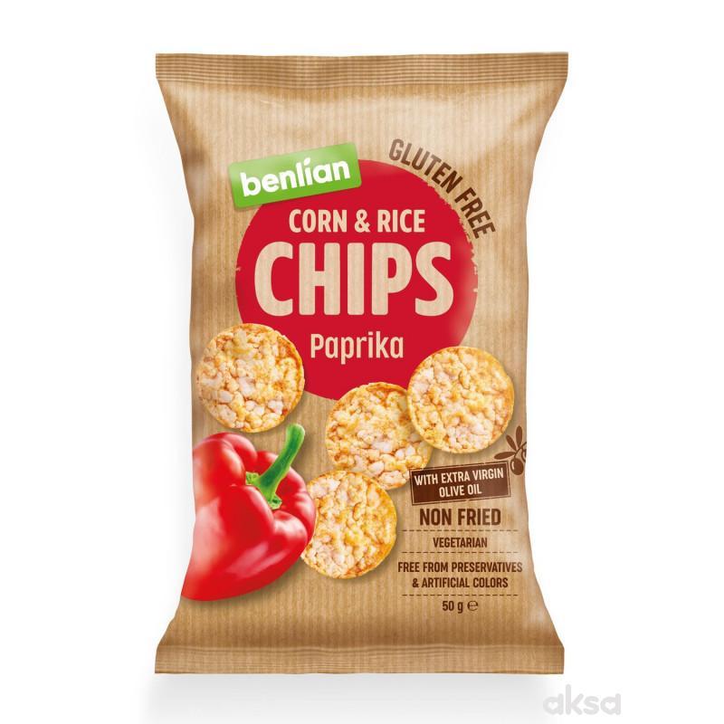 Benlian čips paprika  50g