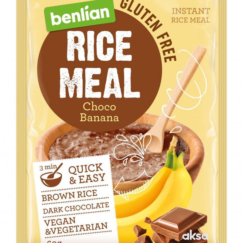 Benlian pirinčana kaša čoko banana 60g