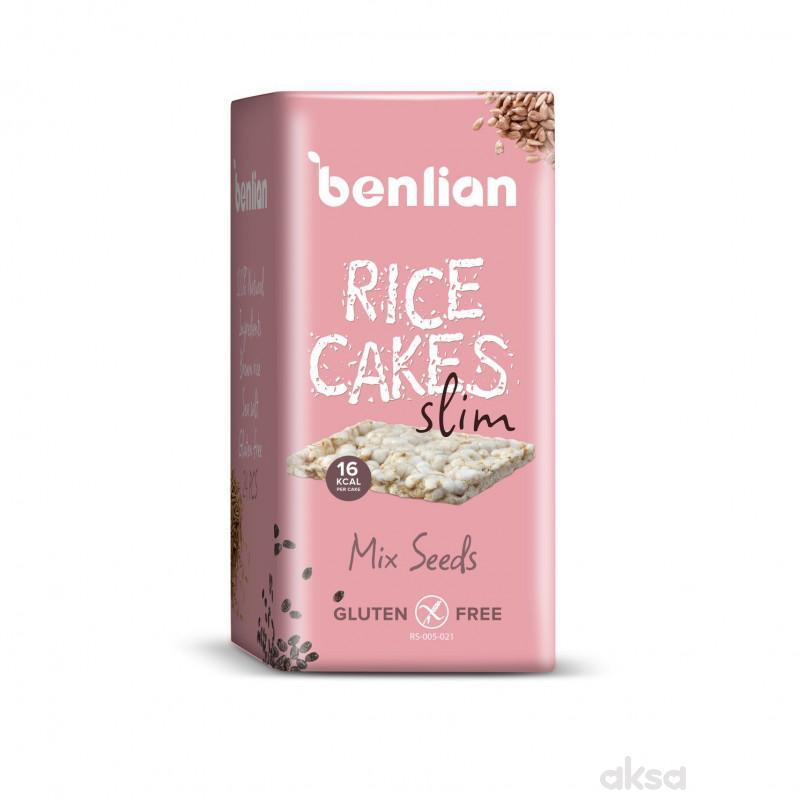 Benlian pirinčane galete slim mix semenke 100g