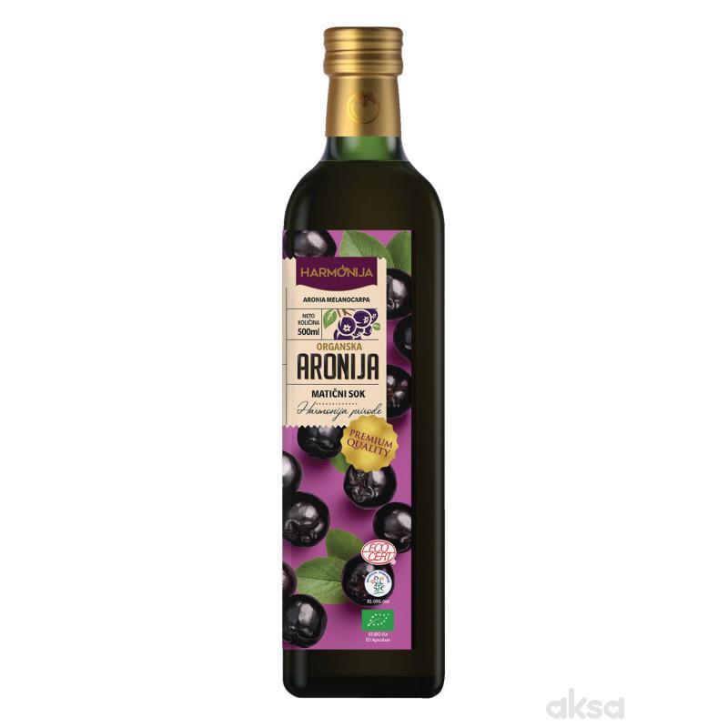 Harmonija maticni sok aronije organski 500ml