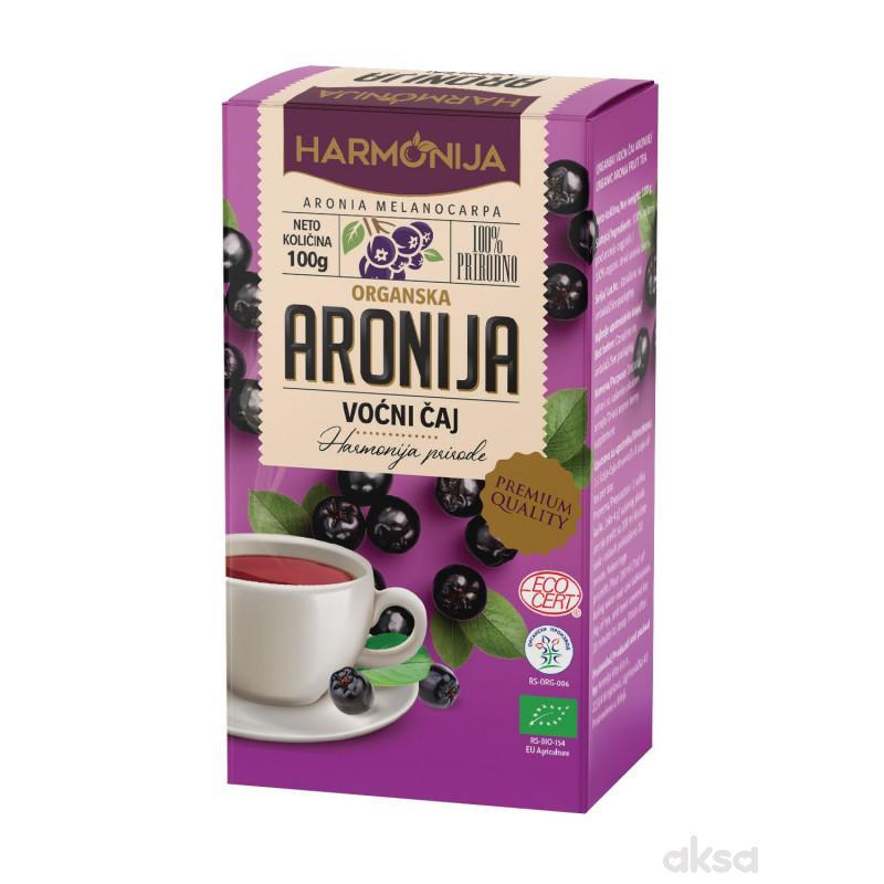 Harmonija organski voćni čaj aronije 100g