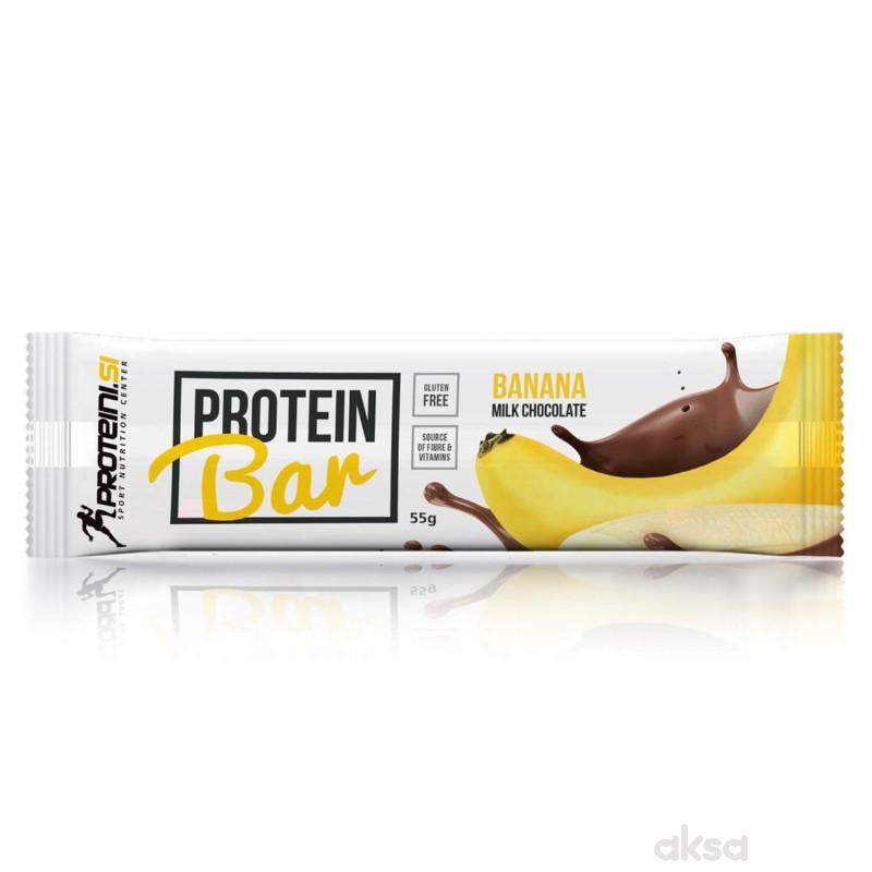 Protein bar banana mlečna čokolada 55g