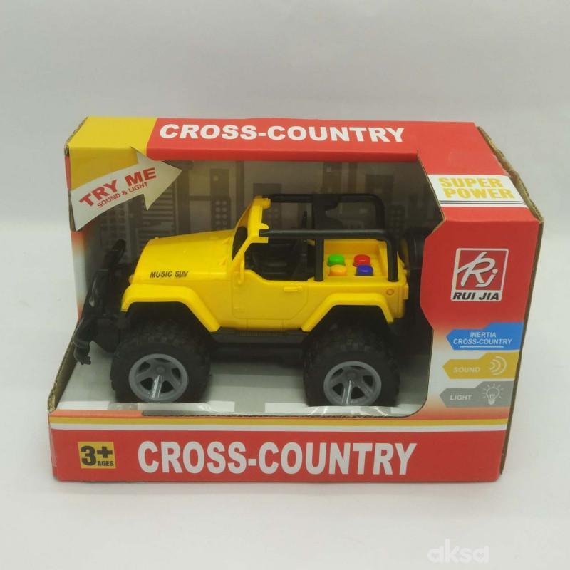 HK Mini igračka džip sa zvukom i svetlima manji
