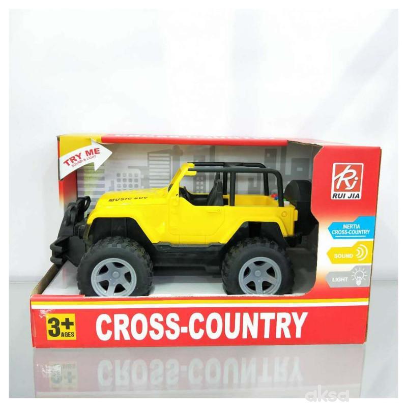 HK Mini igračka džip sa zvukom i svetlima veći