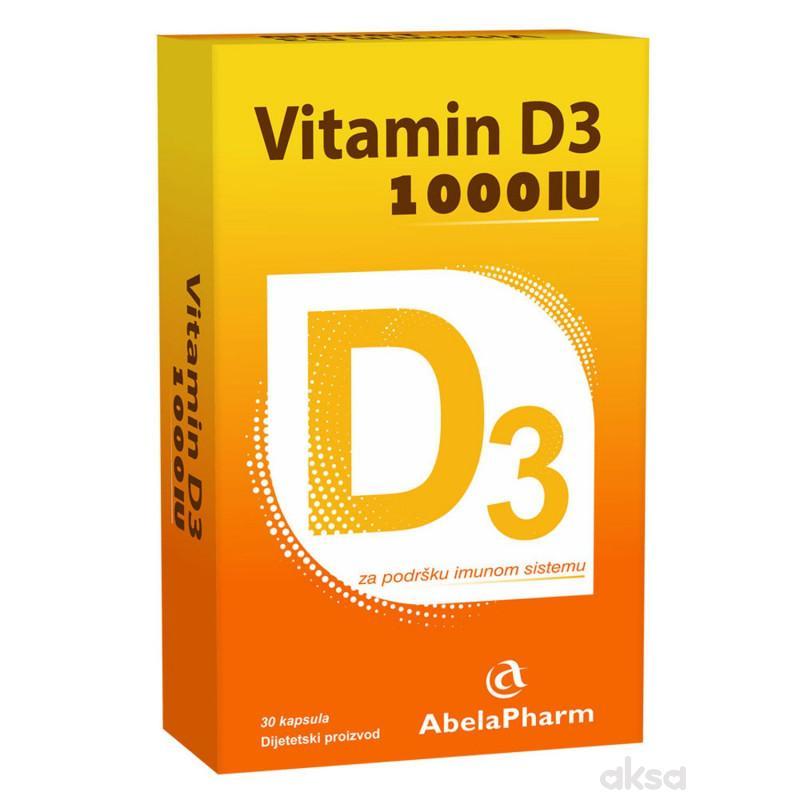 Abela Pharm Vitamin D3 1000 IU