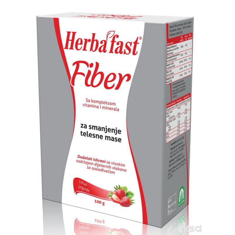 Abela Pharm Herbafast fiber jagoda, 10 kesica