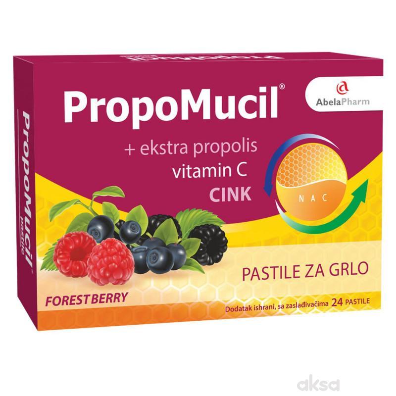 Abela Pharm Propomucil pastile, forest berry