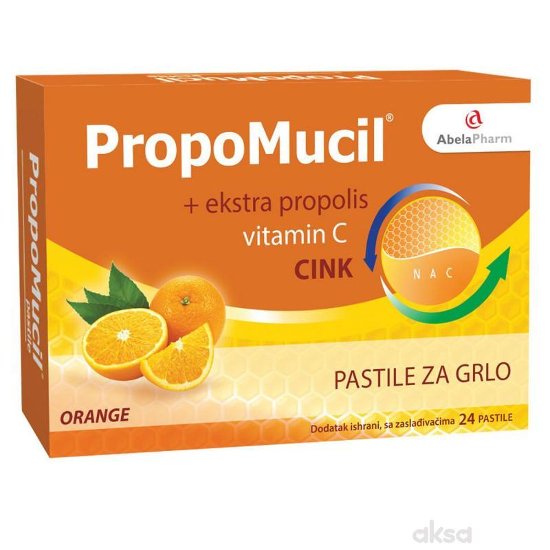 Abela Pharm Propomucil pastile, orange