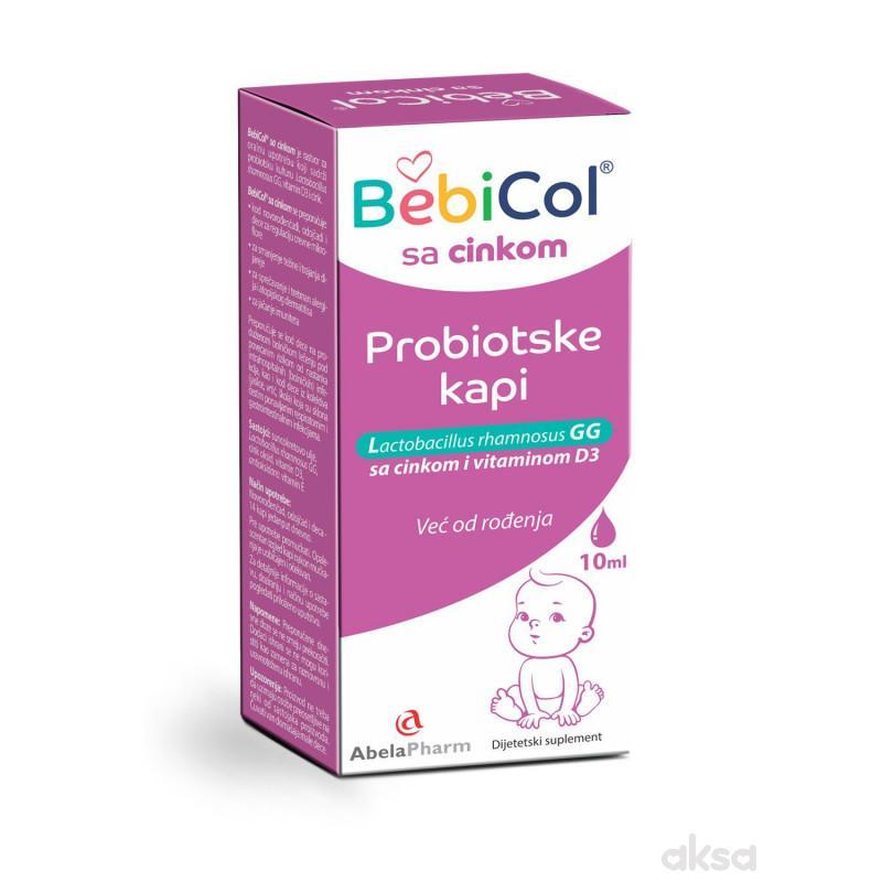 Abela Pharm BebiCol sa cinkom,probiotske kapi,10ml