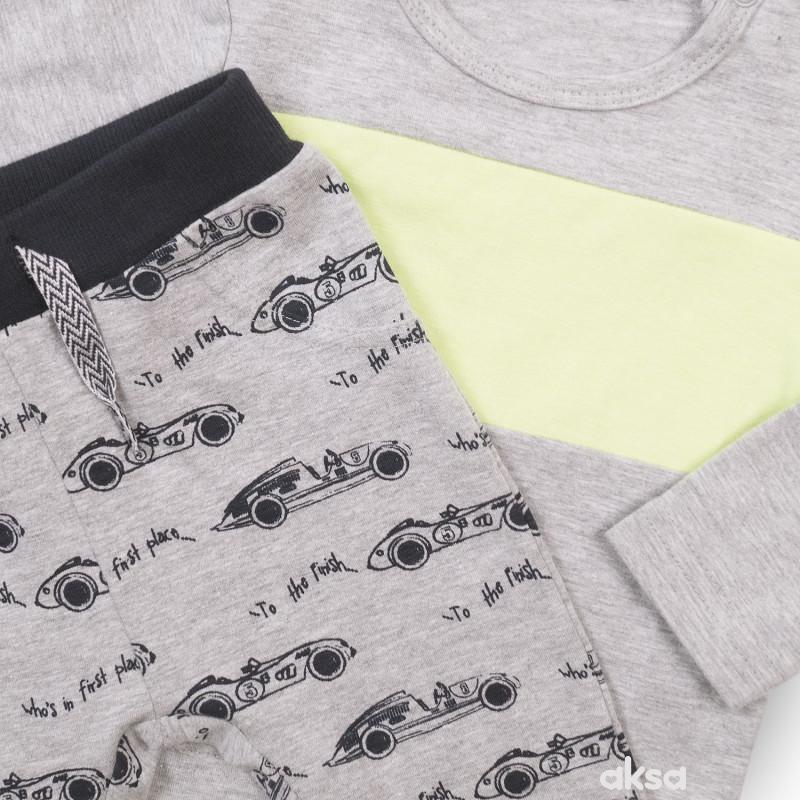 Dirkje komplet 3/1 (majica,duks, d.deo), dečaci