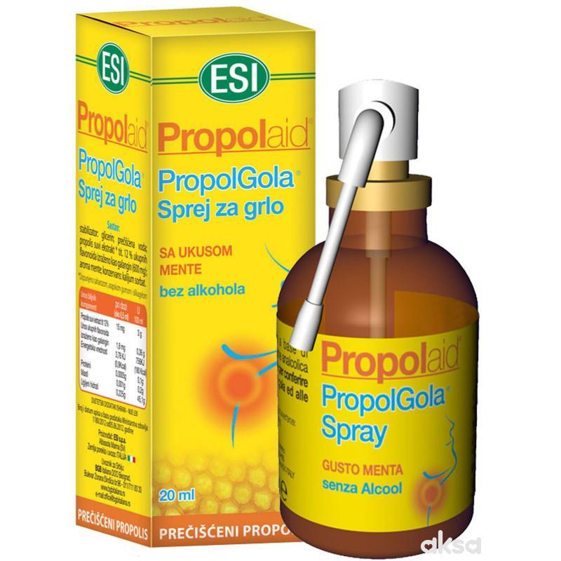 ESI Propolaid Propolgola sprej za grlo 20 ml