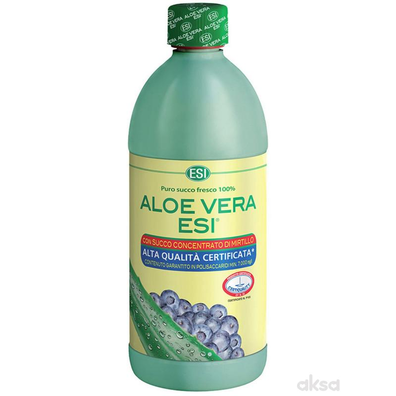 ESI sok aloe vera aroma borovnica 500ml