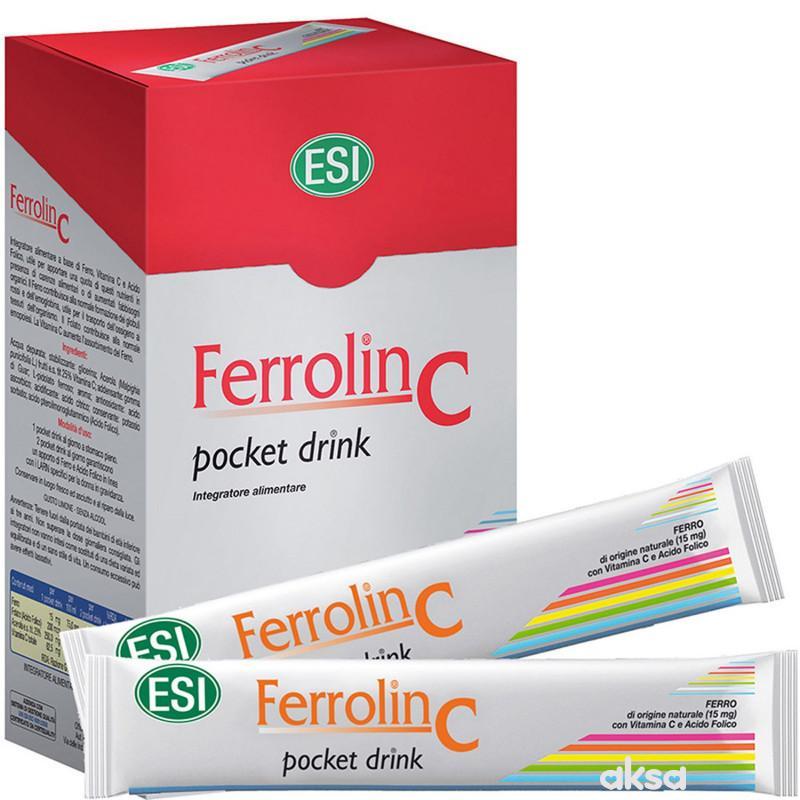 ESI Ferrolin C pocket drink 24x20ml