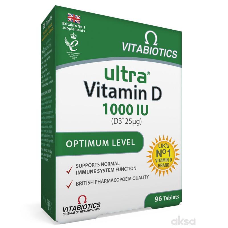 Ultra Vitamin D 1000, 96 tableta