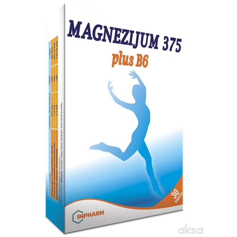 Magnezijum 375 plus B6, 30 kapsula