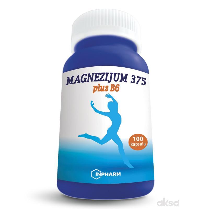 Magnezijum 375 plus B6, 100 kapsula