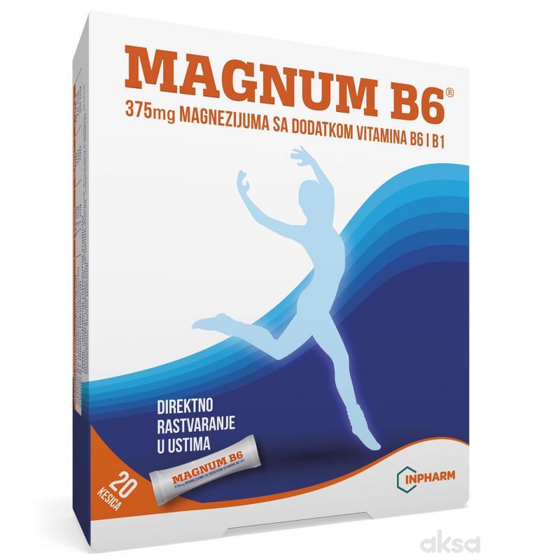 Magnum B6, 20 kesica