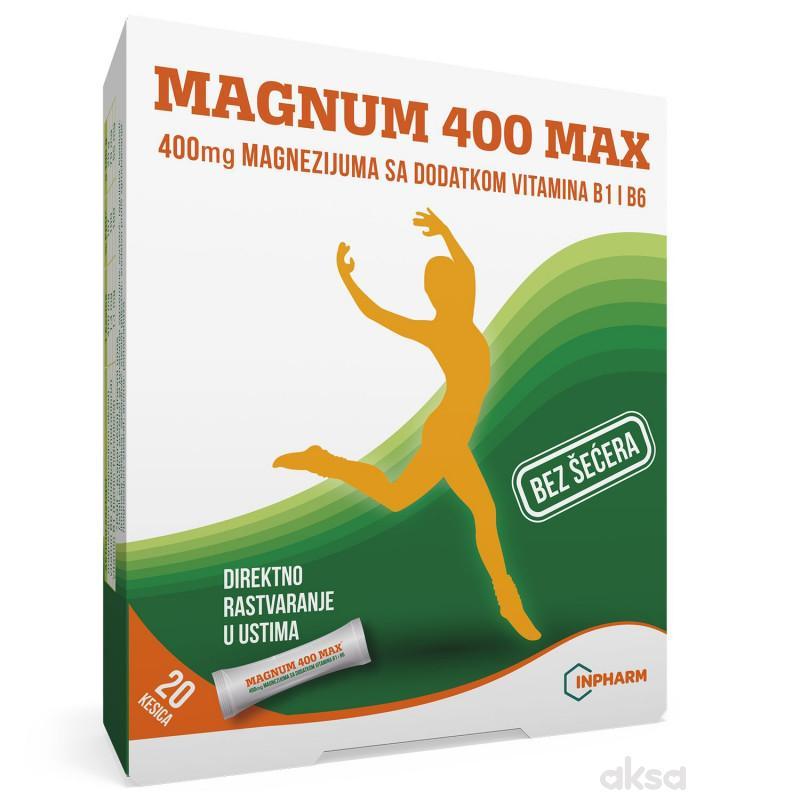 Magnum 400 max, 20 kesica