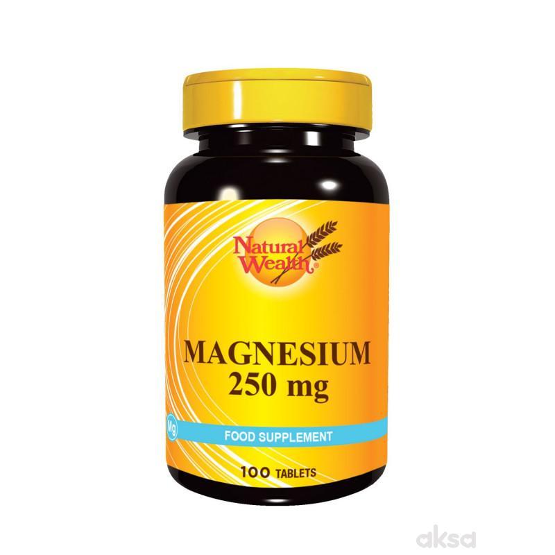 Natural Wealth Magnezijum tablete 100x250mg