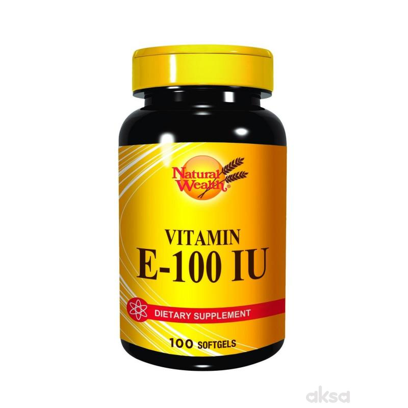 Natural Wealth Vitamin E kapsule 100ij a100