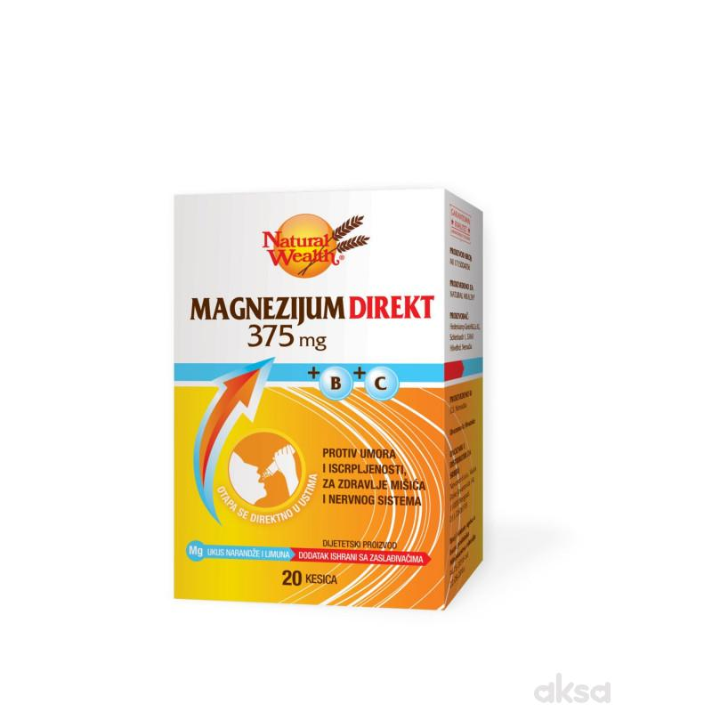 Natural Wealth MG direkt 375+B+C kesica a20