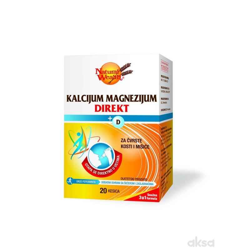 Natural Wealth CA MG direkt+vitamin D kesica a20
