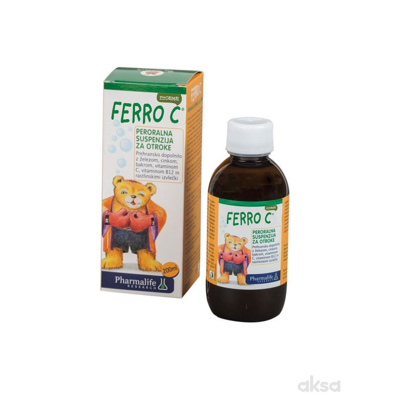 Pharmalife Ferro C eliksir 200ml
