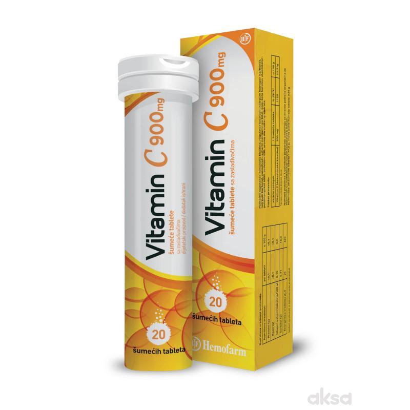 Vitamin C 900 mg 20 šumeće tabkete