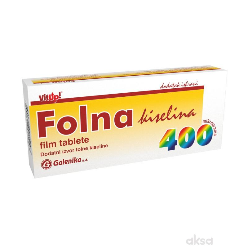 Folna kiselina tablete 30 x 400mcg
