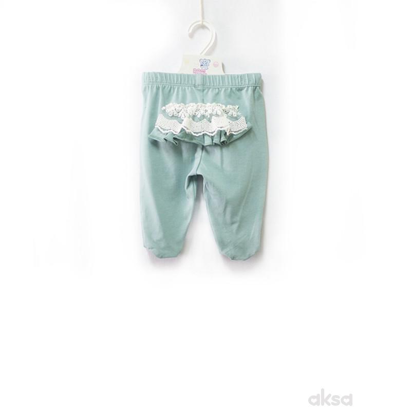 Pom Pom pantalone,sa stopicama,devojčice