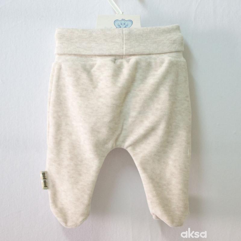 Pom Pom pantalone sa stopicama,unisex