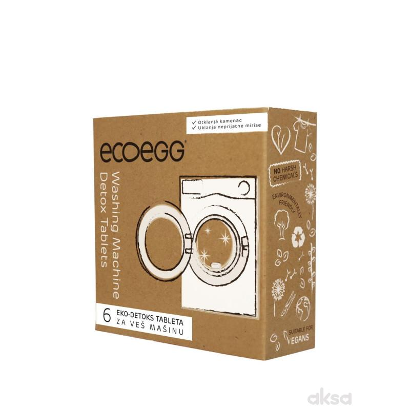 ECOEGG 3u1 eko-detoks tablete za veš mašinu, 6 tableta