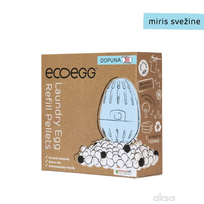 ECOEGG 2u1 dopuna za eko-deterdžent i omekšivač za veš, Miris svežine-50 pranja