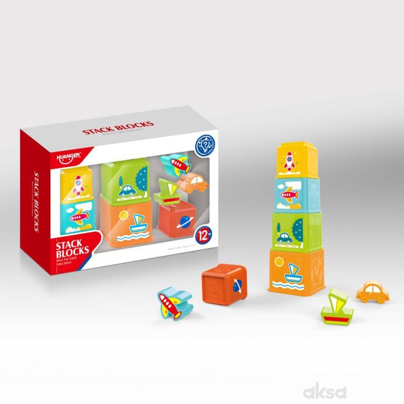 HK Mini igračka zanimljive kocke za slaganje