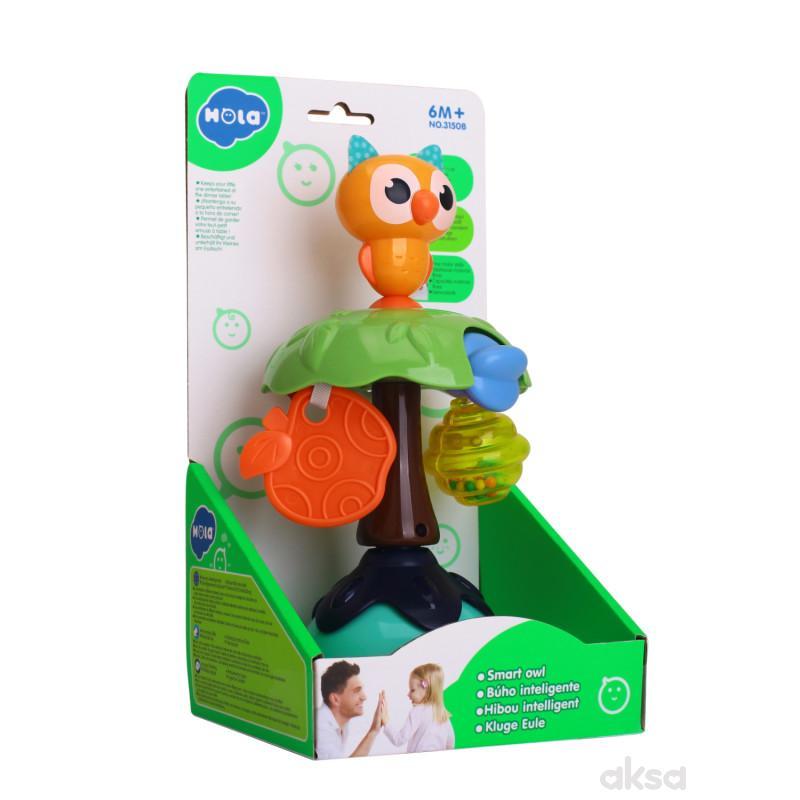 Huile toys igračka pametna sova