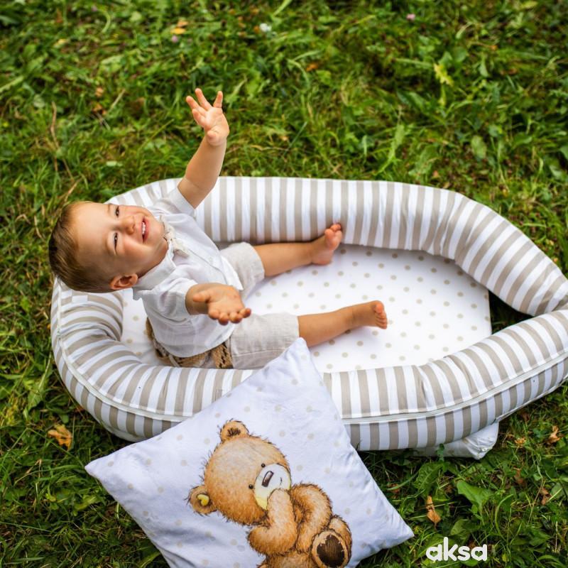 Baby Textil gnezdo Piccolino