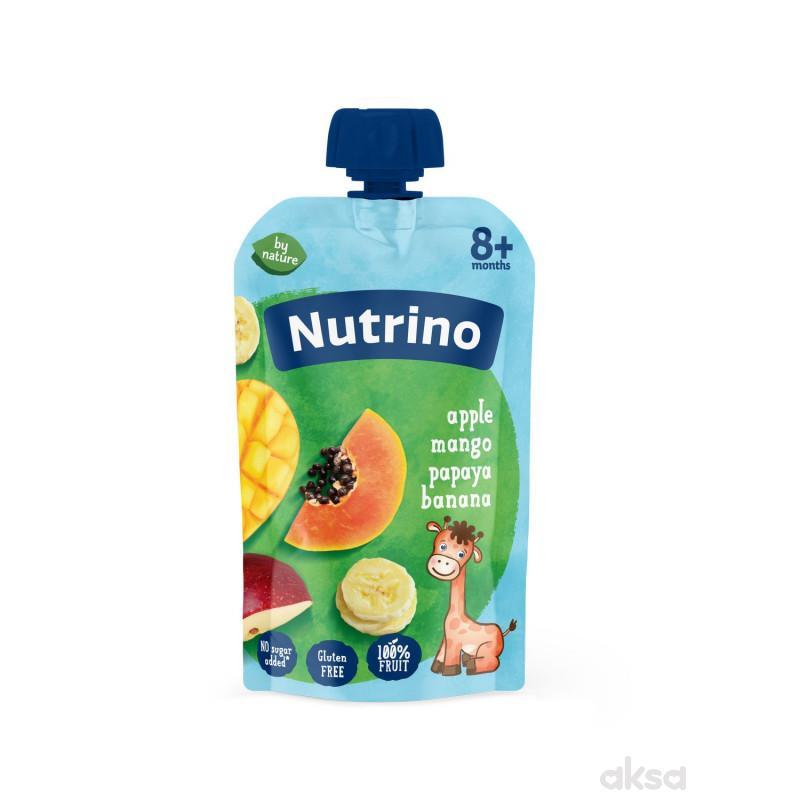 Nutrino pouch jabuka, mango,papaja, banana 100g