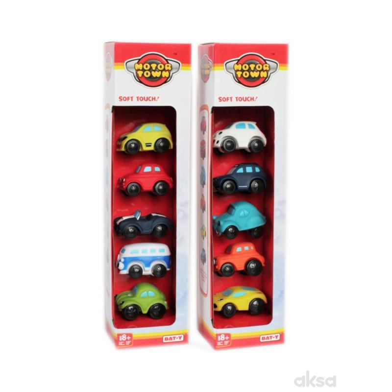 Motor Town Set 5 automobila u displeju 2ASS