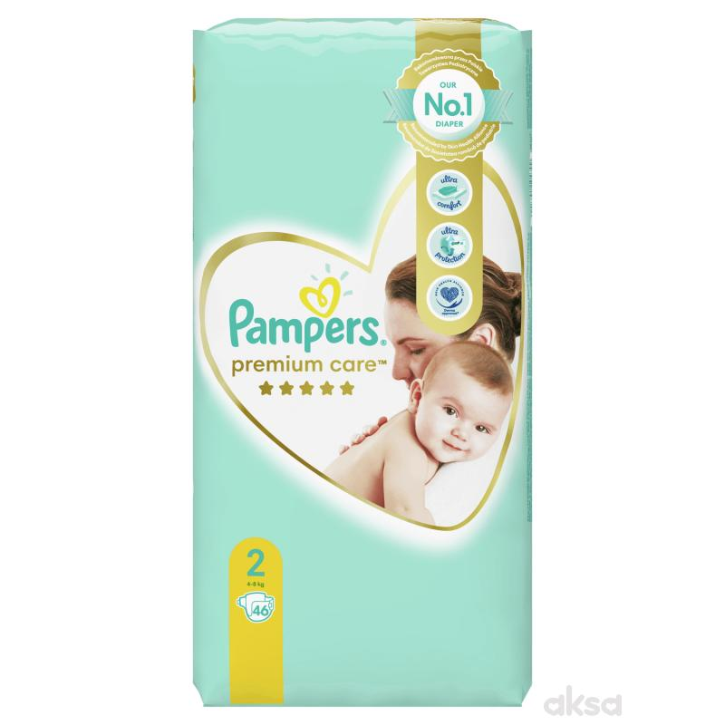 Pampers pelene premium VP 2 mini 4-8kg 46kom