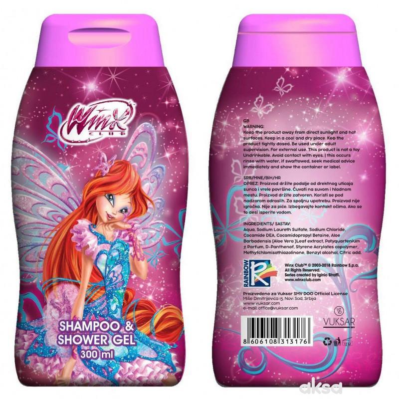 Winx šampon i gel za kupanje 300ml