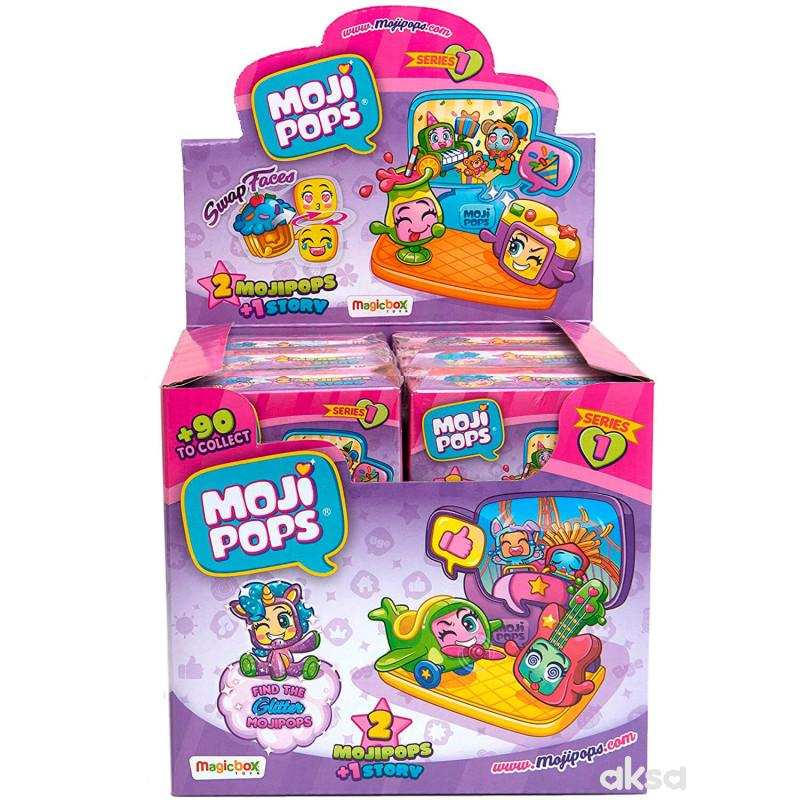 MojiPops - display 12 Story box