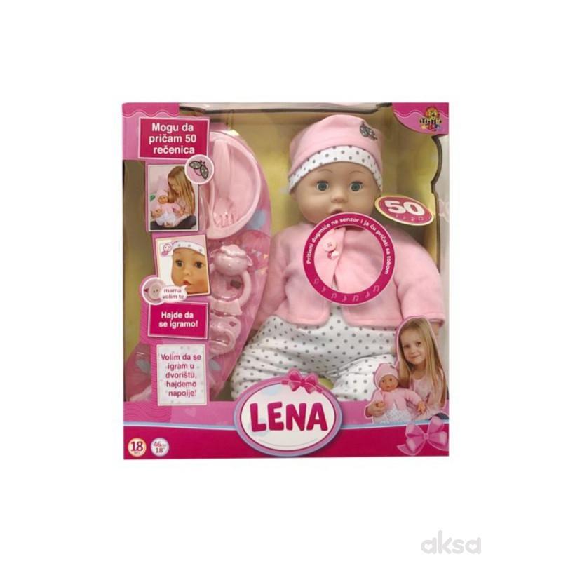 Interaktivna lutka Lena