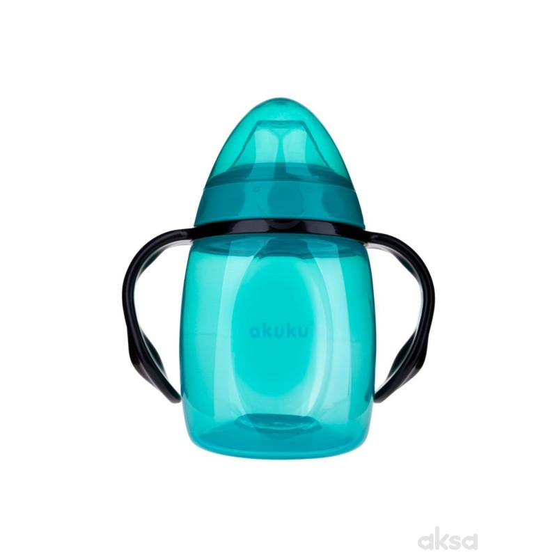 Akuku čaša no-spill 280ml, plava